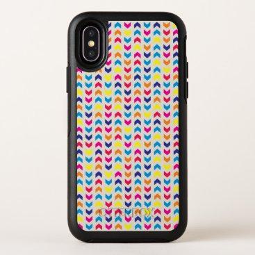 Aztec Themed Aztec Chevron colorful OtterBox Symmetry iPhone X Case