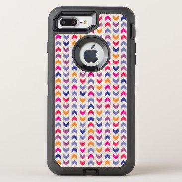 Aztec Themed Aztec Chevron colorful pattern OtterBox Defender iPhone 8 Plus/7 Plus Case