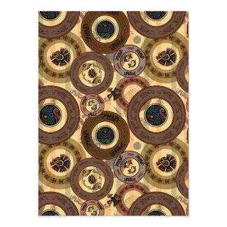 Aztec Circles Card