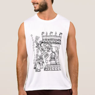 men s aztec tank tops zazzle Apache Sports and Games aztec codex from the b ia group tank top