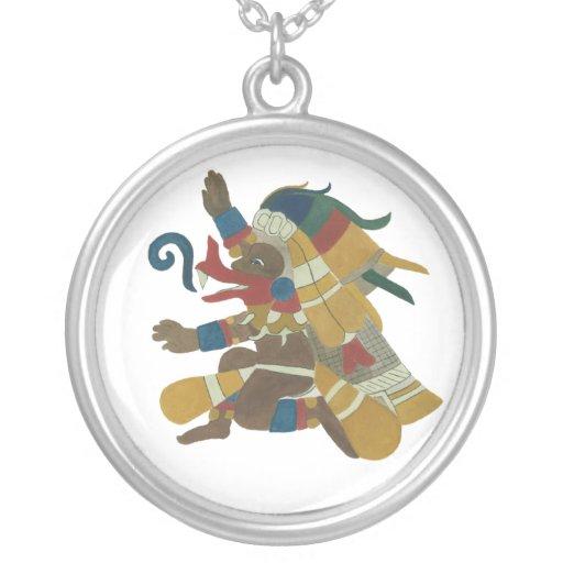 Aztec Creator God - 09 -  Qutzalcoatl - Necklace