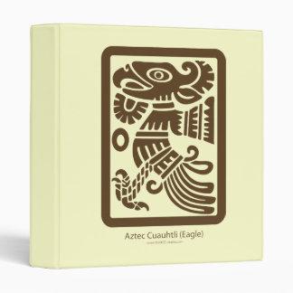 Aztec Cuauhtli - Eagle (Brown) Avery Binder
