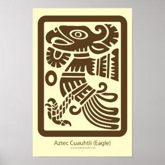 Aztec Cuauhtli - Eagle Print