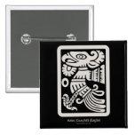 Aztec Cuauhtli - Eagle (Putty) Button