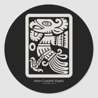 Aztec Cuauhtli - Eagle (Putty) Sticker