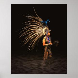 Aztec Dancer Posters