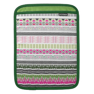 Aztec decorative pattern sleeve for iPads
