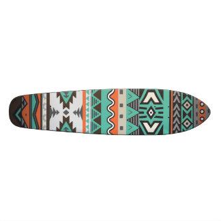 Aztec Design Skateboard Deck