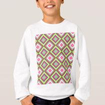 Aztec Diamond Pattern Sweatshirt