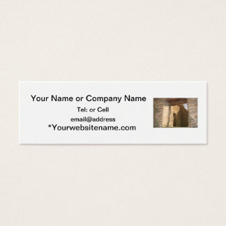 aztec doorways in new mexico mini business card