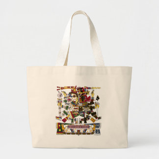 Aztec Duality Large Tote Bag