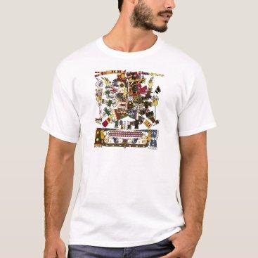 Aztec Themed Aztec Duality T-Shirt
