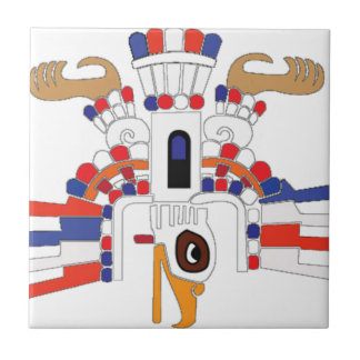 AZTEC EAGLE CERAMIC TILE