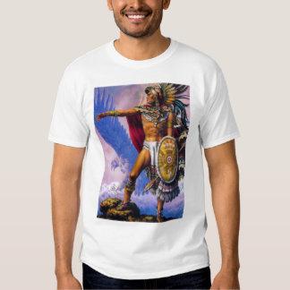 Aztec Eagle Knight T Shirt