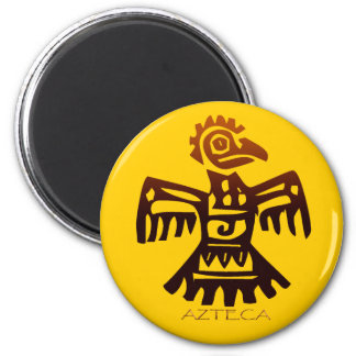 AZTEC EAGLE MAGNETIC MAGIC Collection 2 Inch Round Magnet