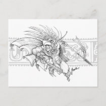 aztec eagle warrior for Oval Shaped Faces