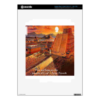 Aztec Empire & Proverb Gifts Tees & Cards iPad 3 Skin