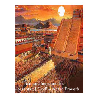 Aztec Empire & Proverb Gifts Tees & Cards Letterhead