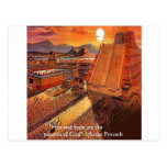 Aztec Empire & Proverb Gifts Tees & Cards Postcards