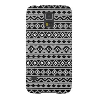 Aztec Essence II Black White Grey Case For Galaxy S5