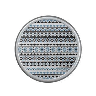 Aztec Essence II Horizontal Ptn Blue Black White Bluetooth Speaker