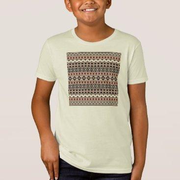Aztec Themed Aztec Essence II Ptn (H) Black White Grey Red Sand T-Shirt