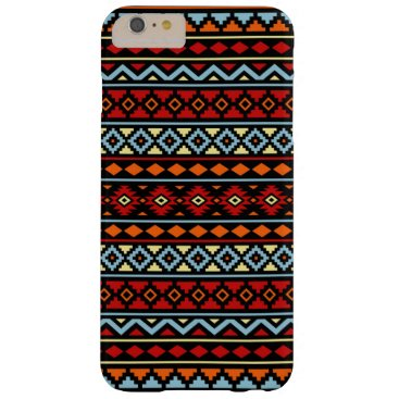 Aztec Themed Aztec Essence II Ptn Red Blue Orange Yellow Blk Barely There iPhone 6 Plus Case