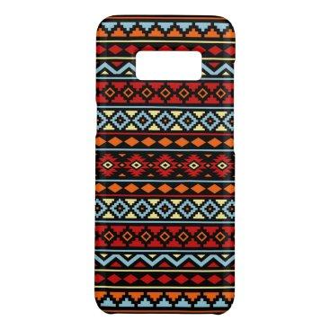 Aztec Themed Aztec Essence II Ptn Red Blue Orange Yellow Blk Case-Mate Samsung Galaxy S8 Case