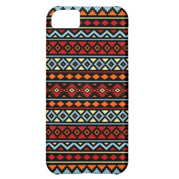 Aztec Themed Aztec Essence II Ptn Red Blue Orange Yellow Blk iPhone 5C Case