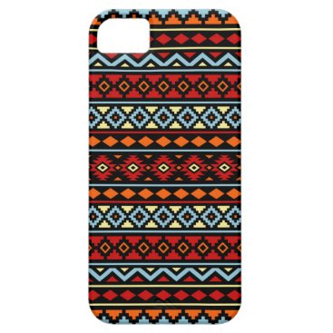 Aztec Themed Aztec Essence II Ptn Red Blue Orange Yellow Blk iPhone SE/5/5s Case