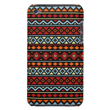 Aztec Themed Aztec Essence II Ptn Red Blue Orange Yellow Blk iPod Touch Cover