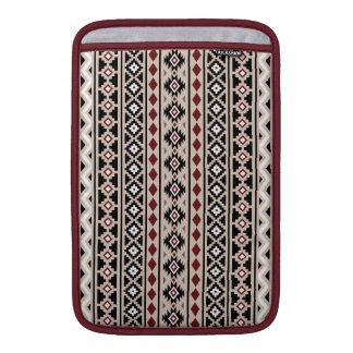Aztec Essence II Ptn (V) Black White Grey Red Sand MacBook Air Sleeve