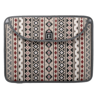 Aztec Essence II Ptn (V) Black White Grey Red Sand MacBook Pro Sleeve