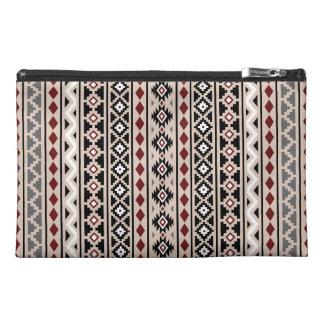 Aztec Essence II Ptn (V) Black White Grey Red Sand Travel Accessory Bag