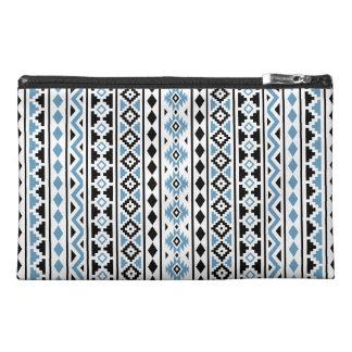 Aztec Essence II Vertical Ptn Blue Black White Travel Accessory Bag