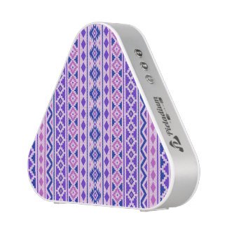 Aztec Essence II Vertical Ptn Pinks Blue Purple Bluetooth Speaker