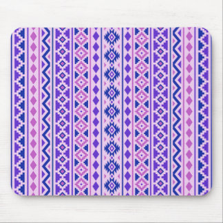 Aztec Essence II Vertical Ptn Pinks Blue Purple Mouse Pad