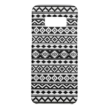 Aztec Themed Aztec Essence Pattern IIb Black & White Case-Mate Samsung Galaxy S8 Case