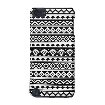 Aztec Themed Aztec Essence Pattern IIb Black & White iPod Touch 5G Case