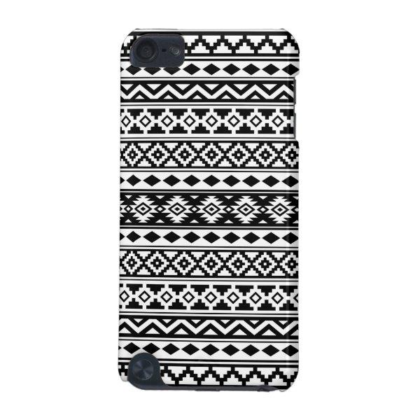 Aztec Essence Pattern IIb Black & White iPod Touch 5G Case