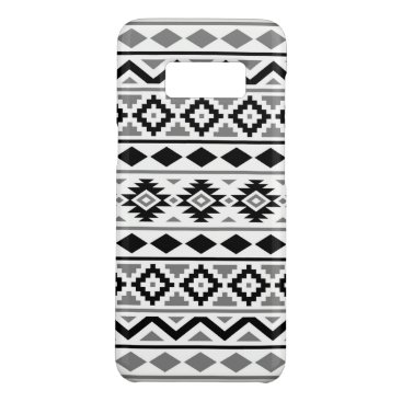 Aztec Themed Aztec Essence Pattern III Black White Gray Case-Mate Samsung Galaxy S8 Case