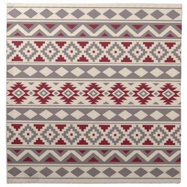 Aztec Themed Aztec Essence Ptn IIIb Cream Taupe Red Napkin