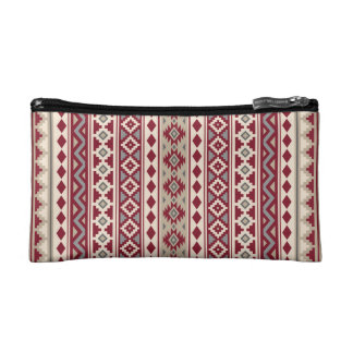 Aztec Essence V Ptn IIb Red Grays Cream Sand Makeup Bag