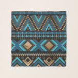 "Aztec Ethnic Pattern Art Scarf<br><div class=""desc"">Aztec Ethnic Pattern Art</div>"