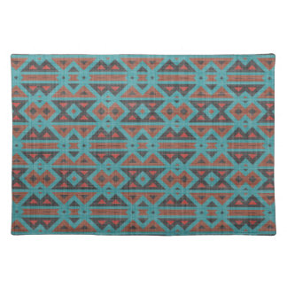 Aztec Fabric Design Chic Native American Tribal Place Mat