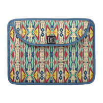 Aztec Fabric. Tribal Pattern. Native American Sleeve For MacBook Pro