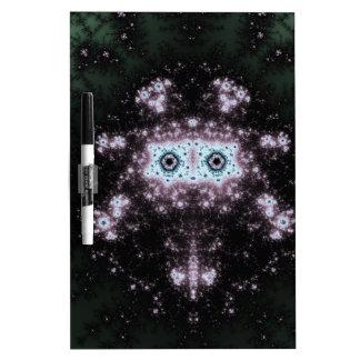 Aztec Face Fractal Design Dry-Erase Board