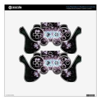 Aztec Face Fractal Design PS3 Controller Decals