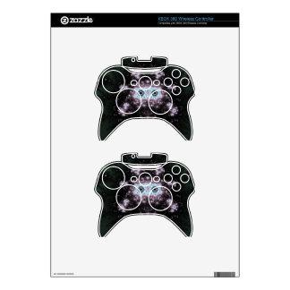 Aztec Face Fractal Design Xbox 360 Controller Decal