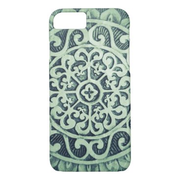 Aztec Themed Aztec Floral Design iPhone 8/7 Case